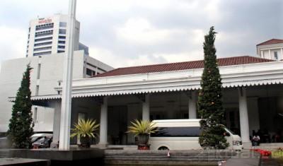 Jakarta Dipimpin Ahok, Halaman Kantor Gubernur Berdiri 2