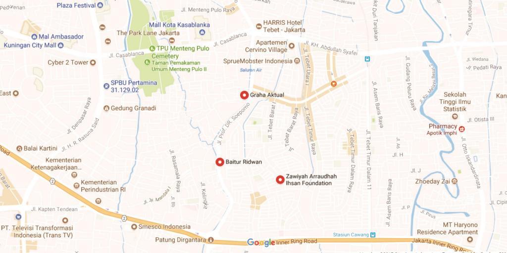 Map Graha Aktual