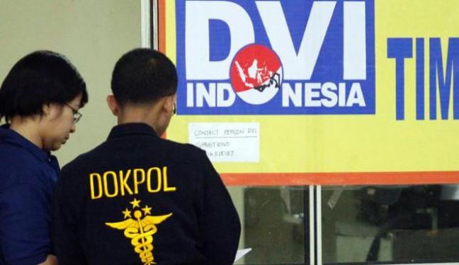 Tim DVI Terjunkan Mambis Bantu Indentifikasi Korban Tragedi Mina