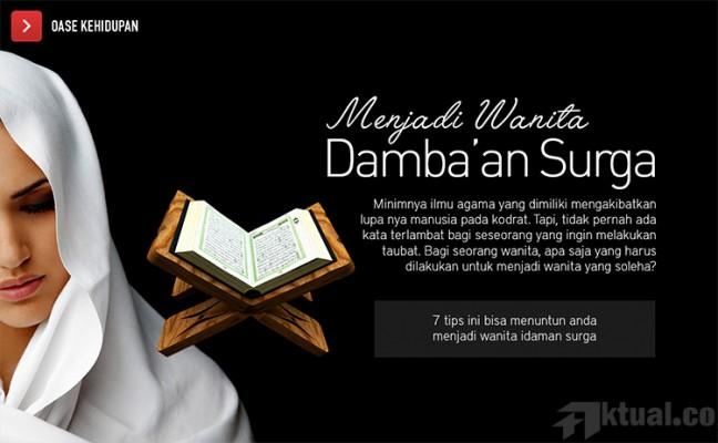 Siraman Rohani Islami Kiat Sukses Jadi Muslimah Yang Soleha