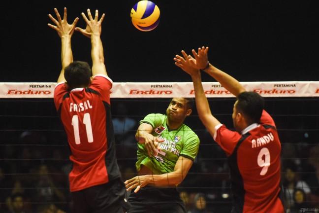 Surabaya Samator Optimis Menang di Putara Kedua Proliga 2015