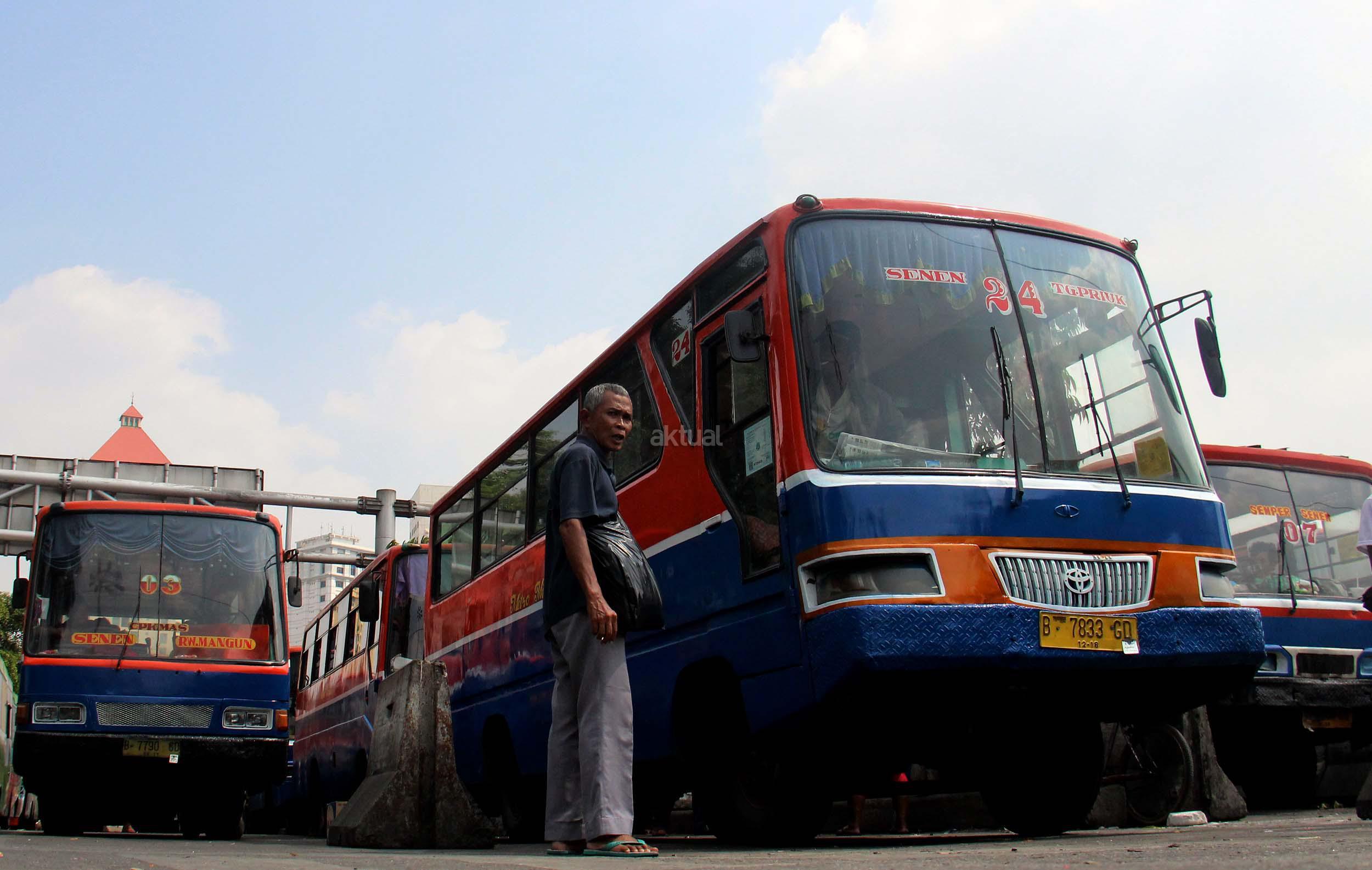 Ini Trayek Metromini di Jakarta Selatan Yang Mogok Operasi.. - Aktual ...