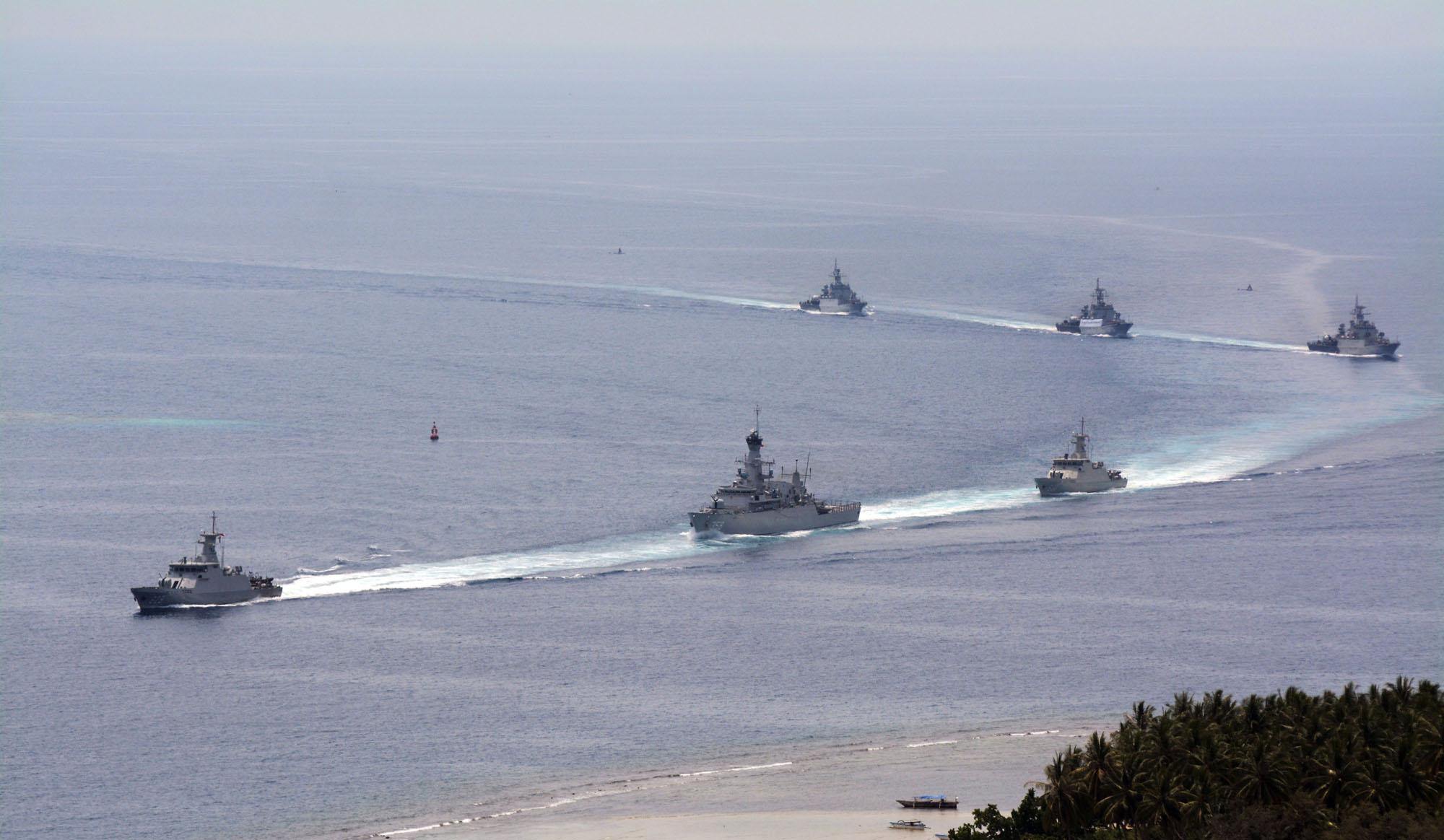 TNI-AL kerahkan 7 Kapal Perang di Natuna | aktual.com