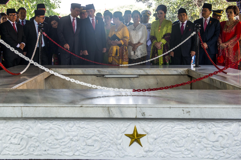 Presiden Jokowi Peringati Hari Kesaktian Pancasila Di Lubang Buaya