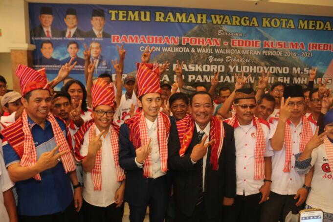 Ibas, Ketua Bappilu Demokrat saat Hadiri Kampanye REDI di Medan