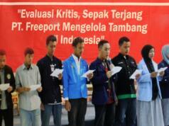 deklarasi mahasiswa tolak freeport