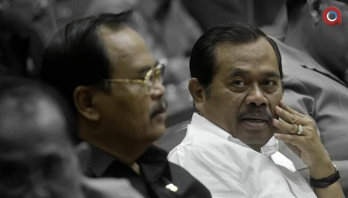 Jaksa Agung HM Prasetyo dan Wakil Jaksa Agung Andhi Nirwanto (Aktual)