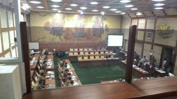 Rapat tertutup Komisi VI,