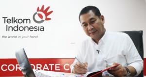 Vice President Corporate Communication PT. Telekomunikasi Indonesia, Arif Prabowo. Foto: Chienk