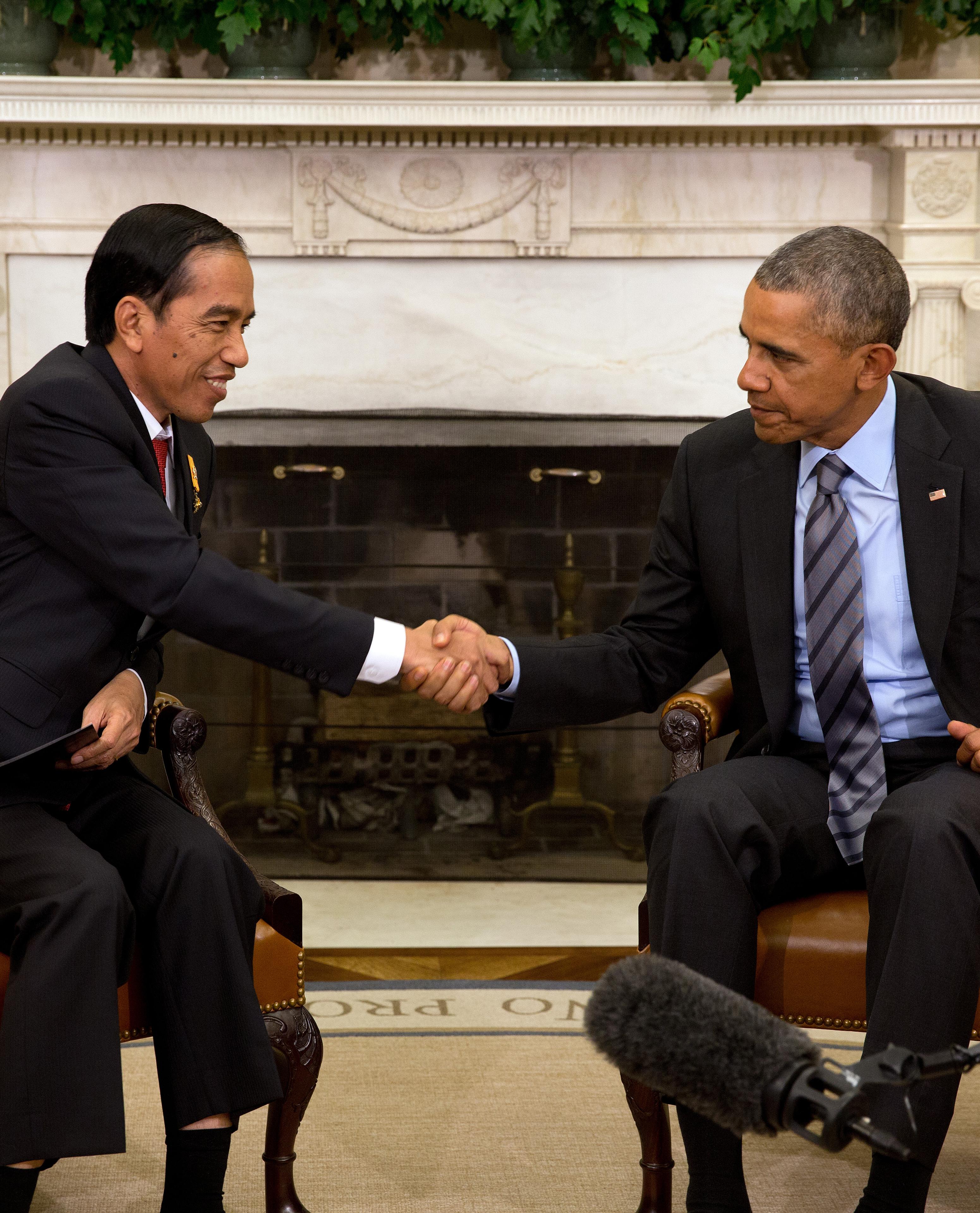 Obama Meets With President Joko Widodo of Indonesia
