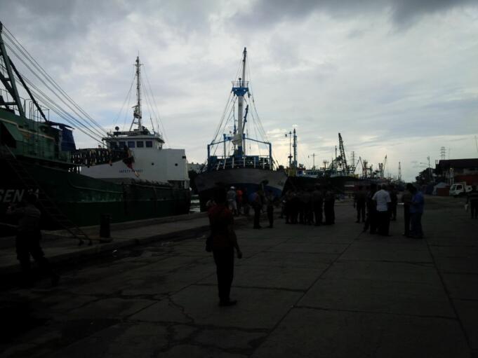 Bongkar Muat di Tanjung Perak Berhenti, Pengiriman Logistik ke Pulau Terpencil Terancam Tertunda