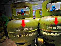 Gas Elpiji 3Kg hanya untuk warga ekonomi rendah. (ilustrasi/aktual.com)