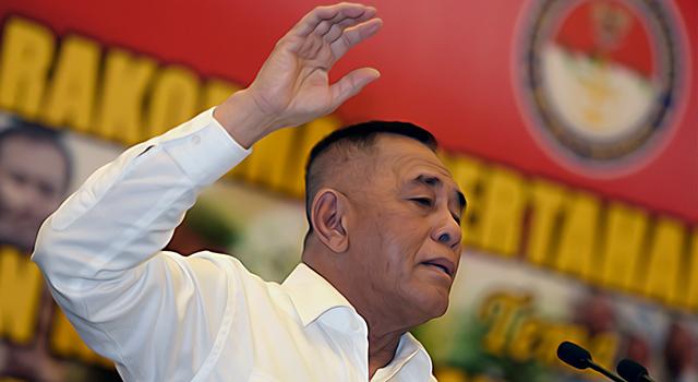 Menteri Pertahanan Ryamizard Ryacudu. (ilustrasi/aktual.com)