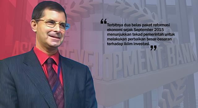 Direktur ADB untuk Indonesia Steven Tabor. (ilustrasi/aktual.com)