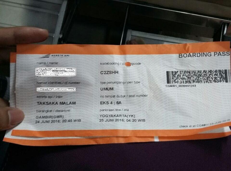 Stasiun Gambir Terapkan Sistem Check In Dan Boarding Pass