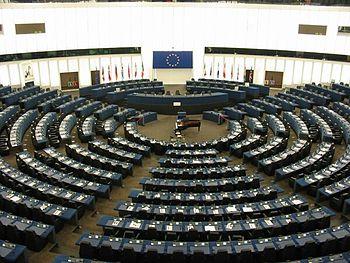 Ruang debat Parlemen Eropa atau