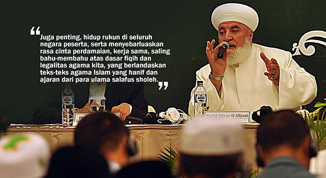 Syekh Muhammad Adnan Al-Afyuni. (ilustrasi/aktual.com)