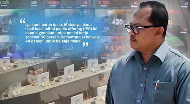 Direktur Utama Waskita Beton Precast, Jarot Subana. (ilustrasi/aktual.com)