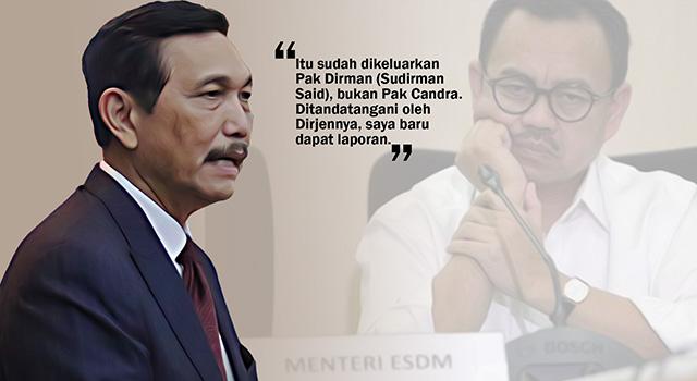 Pelaksana tugas (Plt) Menteri Energi dan Sumber Daya Mineral (ESDM) Luhut Binsar Pandjaitan. (ilustrasi/aktual.com)