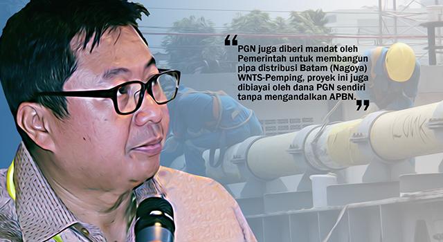 Sekretaris Perusahaan PGN, Heri Yusup. (ilustrasi/aktual.com)