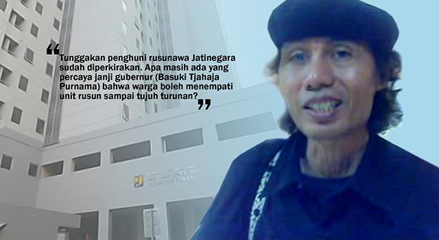 Aktivis Ciliwung Merdeka, Ignatius Sandyawan Sumardi. (ilustrasi/aktual.com)