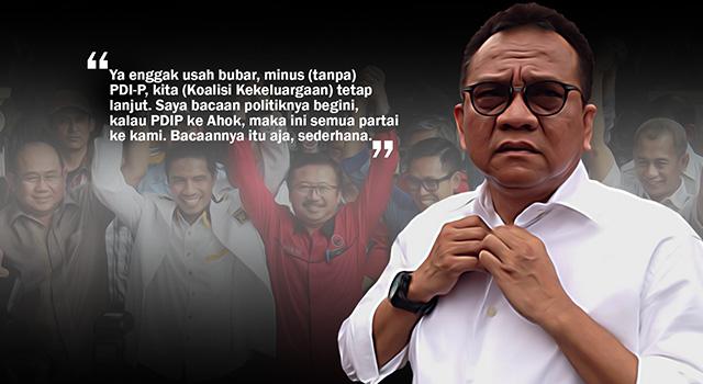 Ketua DPD DKI Partai Gerindra M Taufik. (ilustrasi/aktual.com)