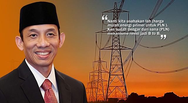 Menteri Energi dan Sumber Daya Mineral, Arcandra Tahar. (ilustrasi/aktual.com)