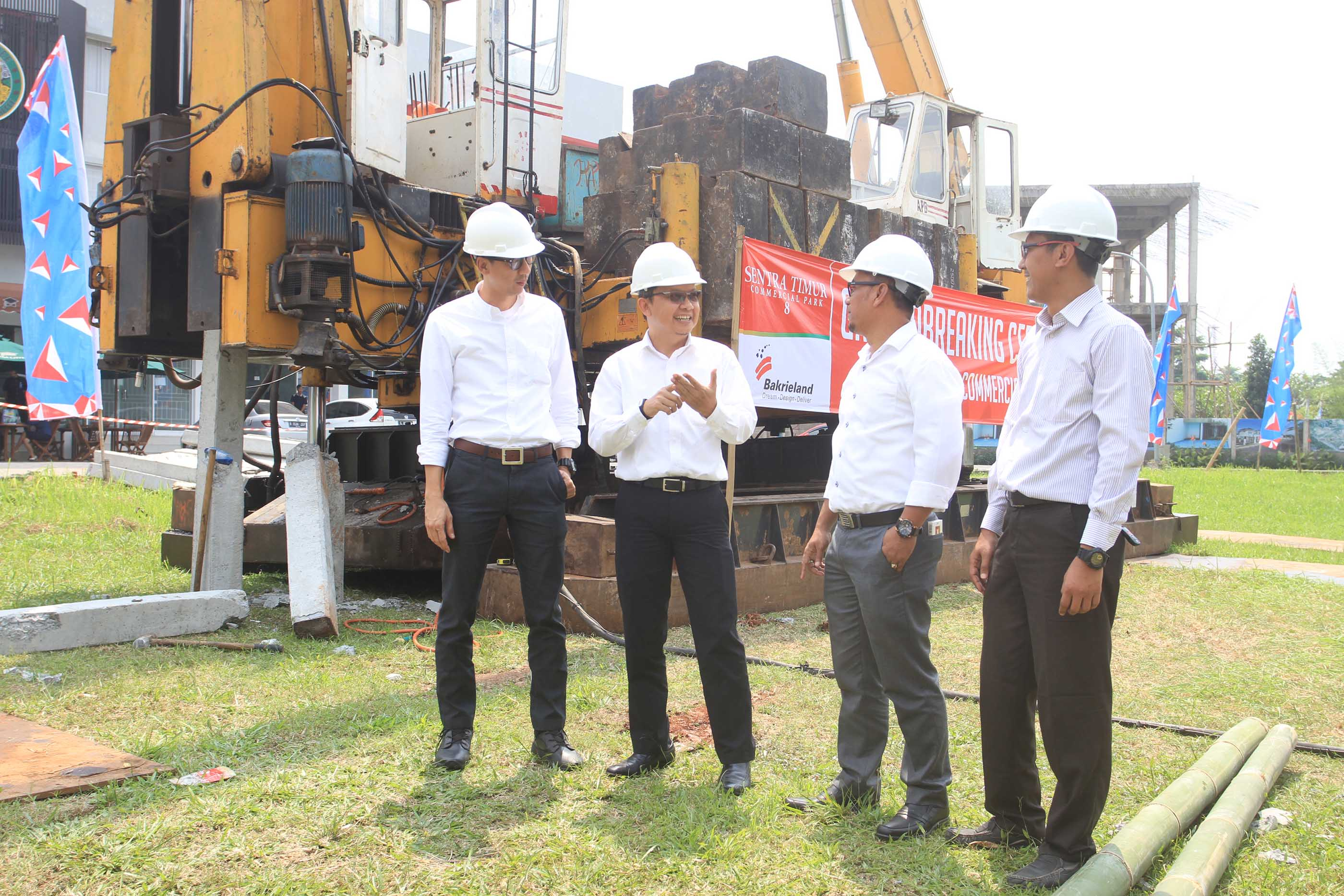 Ground Breaking Sentra Timur Commercial Park 8