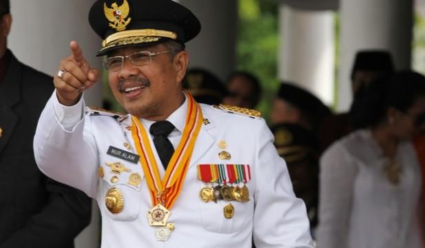 Gubernur Sultra, Nur Alam