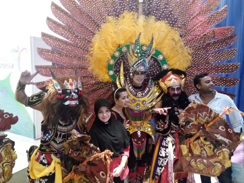 Explore Exotic Indonesia Street Festival
