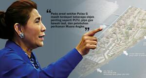 Menteri Kelautan dan Perikanan Susi Pudjiastuti - Rekomendasi pemberhentian reklamasi pulau G. (ilustrasi/aktual.com)