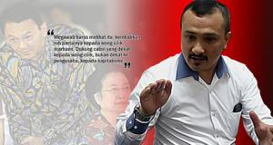 Ferdinand Hutahean - Pilkada DKI Jakarta. (ilustrasi/aktual.com)