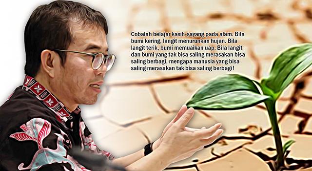 Kaki Hari Yudi Latif - Tanpa Perasaan dan Kebersamaan, Kehidupan Tak Dapat Dimenangkan. (ilustrasi/aktual.com)