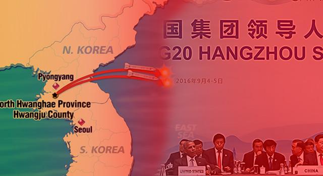 Korut Tembakan Tiga Misil Saat Puncak Pertemuan Pimpinan G 20 di Cina. (ilustrasi/aktual.com)