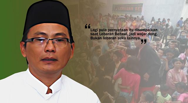 Sekretaris Majelis Tinggi Bamus Betawi, Lutfi Hakim. (ilustrasi/aktual.com)