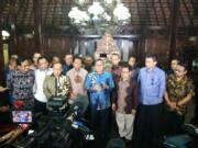 Para Ketua Umum Parpol Berkumpul Bahas Cagub-Cawagub DKI Jakarta di Cikeas