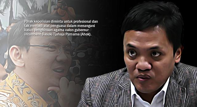 Pengacara Advokat Cinta Tanah Air (ACTA) Habiburrokhman. (ilustrasi/aktual.com)