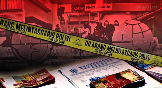Operasi Tangkap Tangan (OTT) Pungli di Kemenhub. (ilustrasi/aktual.com)