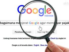 Mengejar Pajak Google. (ilustrasi/aktual.com)