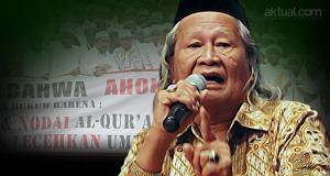 Budayawan Betawi Ridwan Saidi. (ilustrasi/aktual.com)