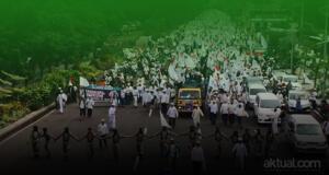 Puluhan Ribu Muslim di Jatim Gelar Aksi Penjarakan Ahok. (ilustrasi/aktual.com)