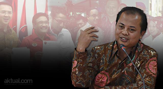 Ketua Komisi Pemilihan Umum (KPU) DKI Jakarta Sumarno - Penetapkan tiga pasangan calon gubernur dan wakil gubernur peserta Pilkada DKI Jakarta 2017. (ilustrasi/aktual.com - foto/antara)