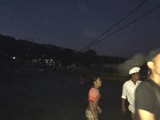 Suasana di Jembatan Kuning (Foto: Bobby Andalan)