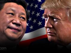 Presiden China Xi Jinping - Presiden AS Donald Trump. (ilustrasi/aktual.com)