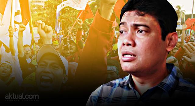 Presiden Konfederasi Serikat Pekerja Indonesia (KSPI), Said Iqbal - KSPI akan ikut dalam Aksi Bela Islam III. (ilustrasi/aktual.com)