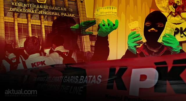 OTT KPK di Ditjen Pajak. (ilustrasi/aktual.com)