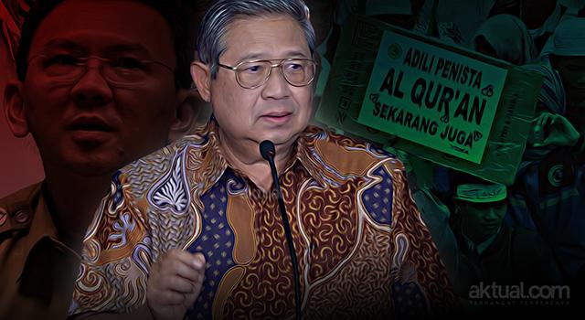 Presiden ke-6 RI Susilo Bambang Yudhoyono - Kasus dugaan penistaan agama yang dilakukan gubernur DKI Basuki Tjahaja Purnama alias Ahok. (ilustrasi/aktual.com)
