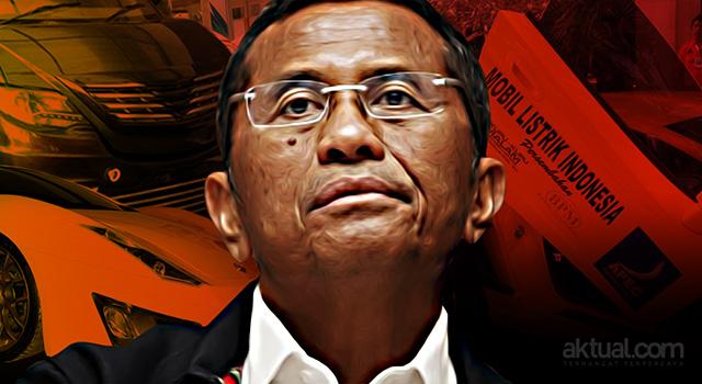 Dahlan Iskan Terlibat Korupsi Proyek Mobil Listrik. (ilustrasi/aktual.com)