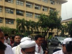 Habib Rizieq Hadir di Gelar Perkara Ahok