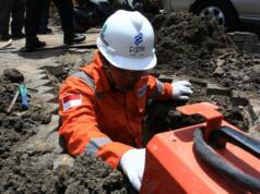 Perluasan pipa gas PGn di Bogor-Sukabumi
